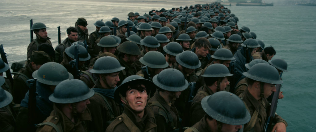 Fionn Whitehead (Tommy) in Dunkirk, ©-2017-Warner Bros Ent.