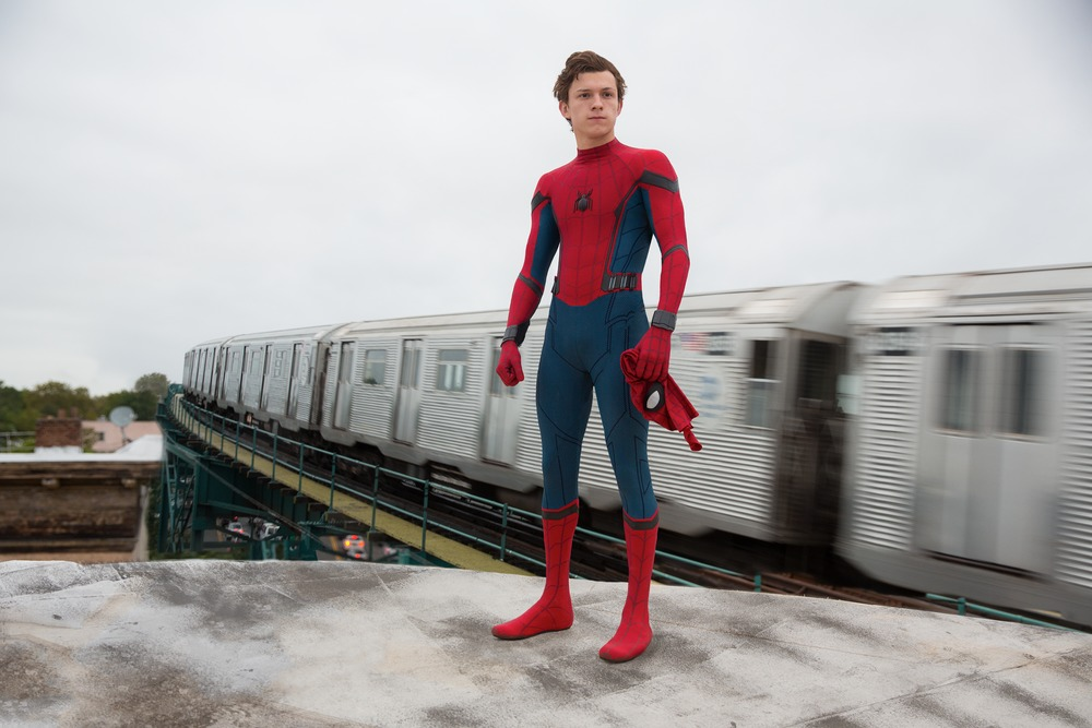 Tom Holland als Spider-Man in SPIDER-MAN: HOMECOMING. Columbia Pictures.