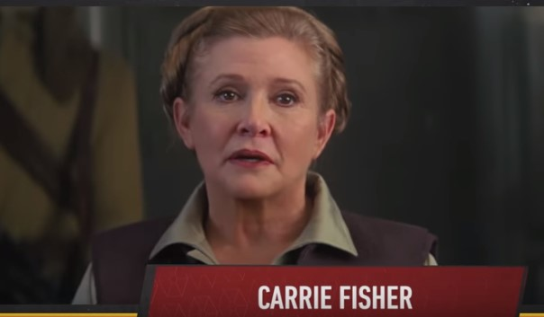 Carrie Fisher keert terug in Star Wars Episode IX