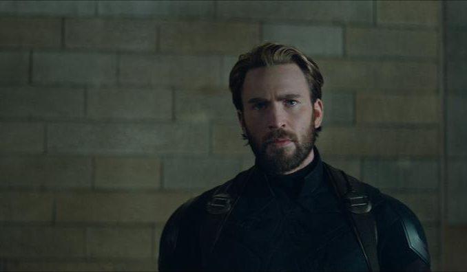 Chris Evans als captain America in Avengers: Infinity War. ©Marvel Studios 2018.