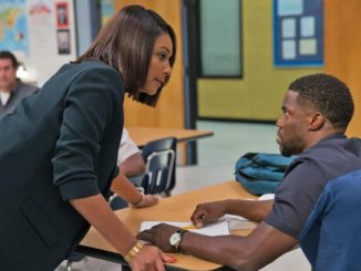 Tiffany Haddish & Kevin Hart in Night School. Universal Pictures.