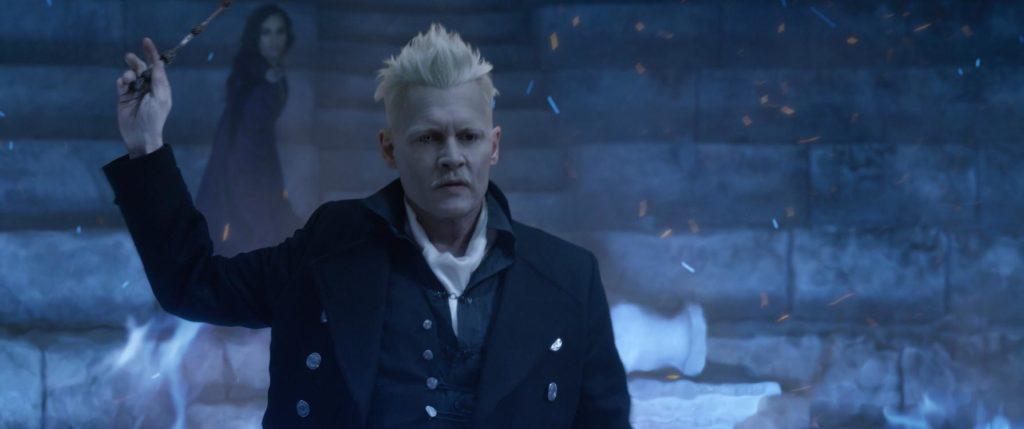Johhny Depp is Grindelwald in The Crimes of Grindelwald. © 2018 Warner Bros Ent.