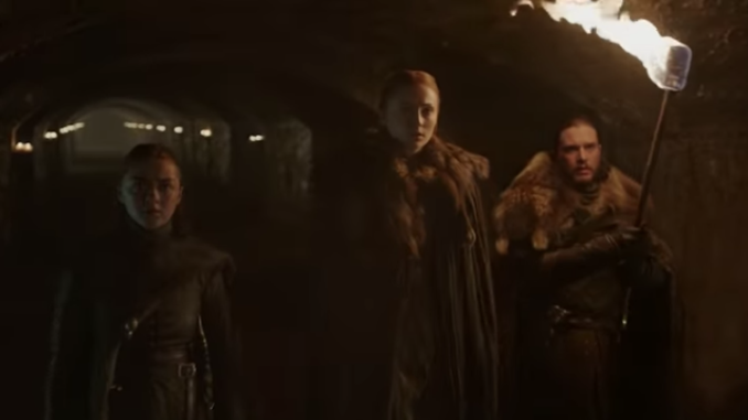Game of Thrones seizoen acht Teaser Trailer Crypts of Winterfell
