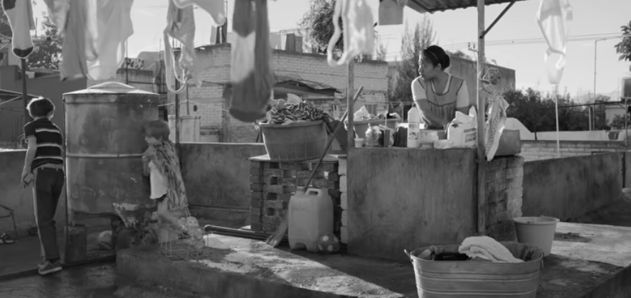 Roma is favoriet in de categorie Oscar Beste Film.