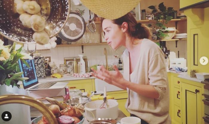Hollywoodsterren in quarantaine: Emilia Clarke
