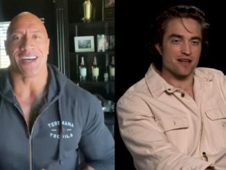Robert Pattinson en Dwayne Johnson